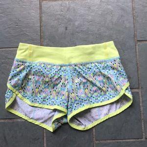 Ivivva Yellow Patterned Shorts